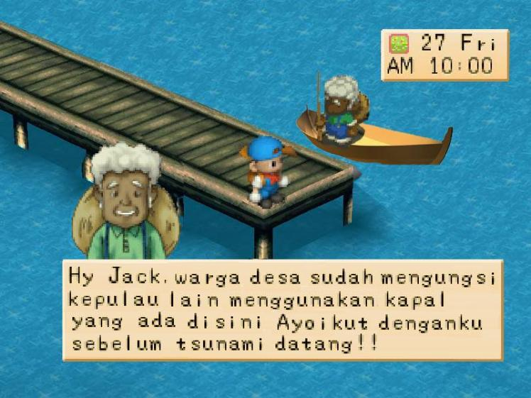 Humor harvest moon