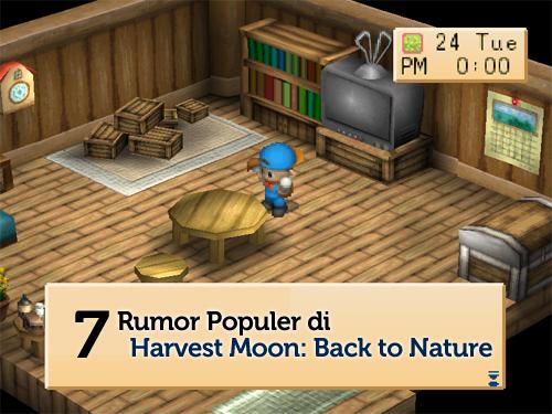 rumor harvest moon back to nature