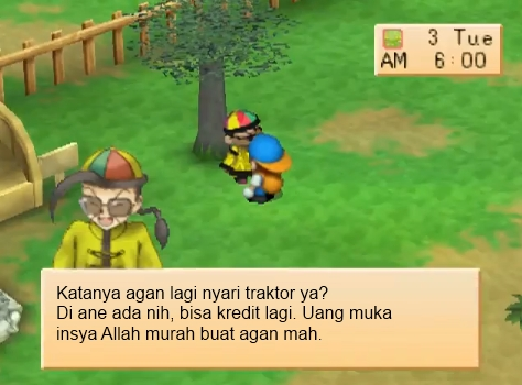 harvest moon won traktor