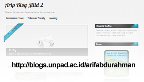 Arip Blog Jilid 2