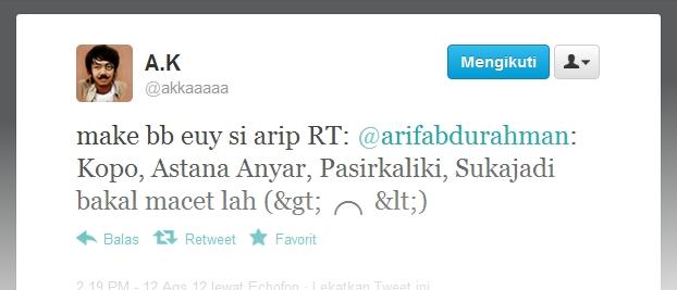 nipu temen tweet via bb