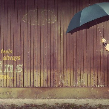 It's always raining on me