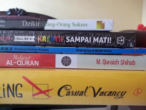Buku dari Bandung Islamic Book Fair 2013