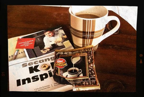 secangkir kopi abc susu