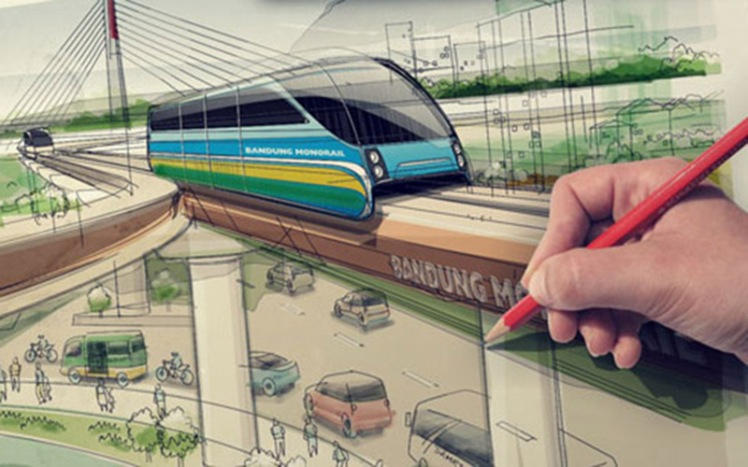 bandung monorail