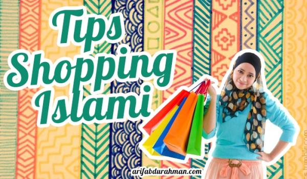 tips shopping islami