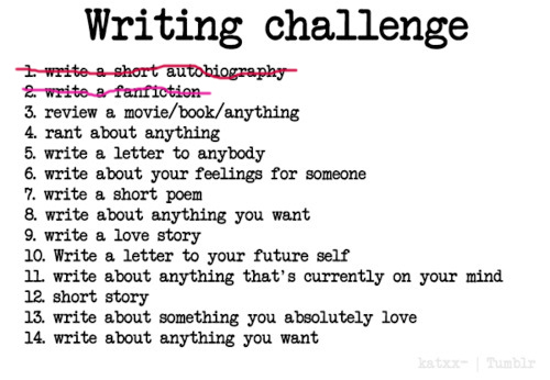 writing challenge no 2