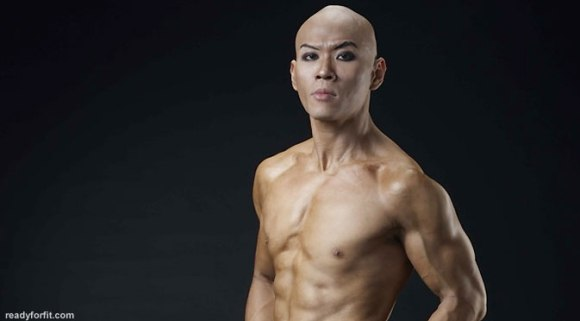 foto deddy corbuzier diet telanjang dada shirtless topless