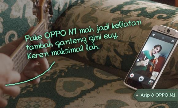 aktualisasi diri dgn OPPO N1