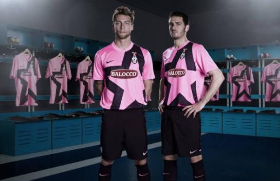 Jersey juventus pink