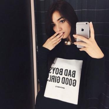 citra kirana selfie