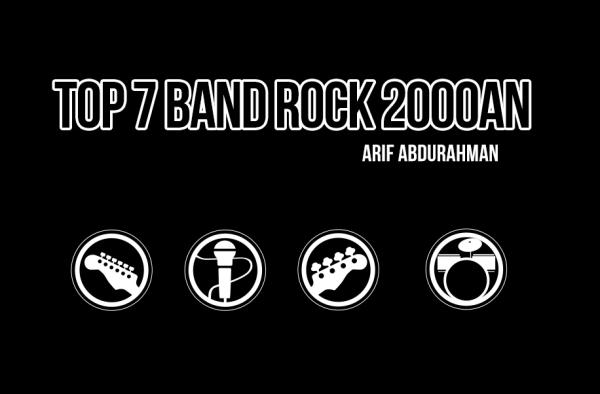 top rock band 2000an