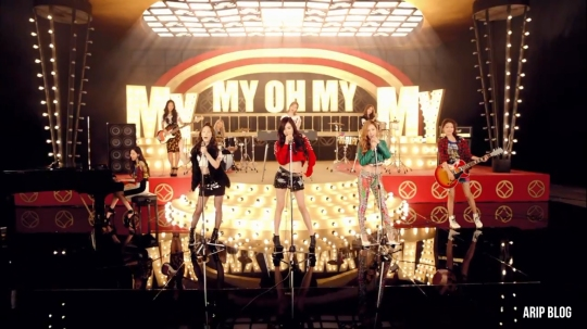 snsd my oh my mv band