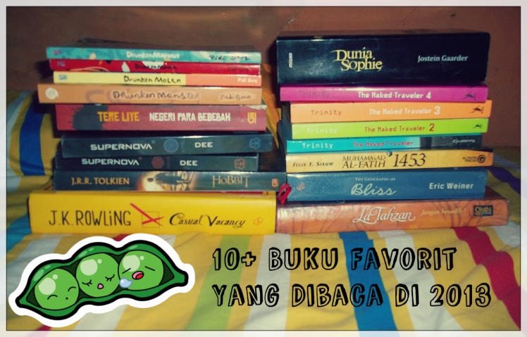 10 buku favorit 2013