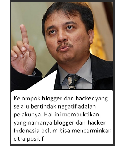 roy suryo bicara hacker dan blogger