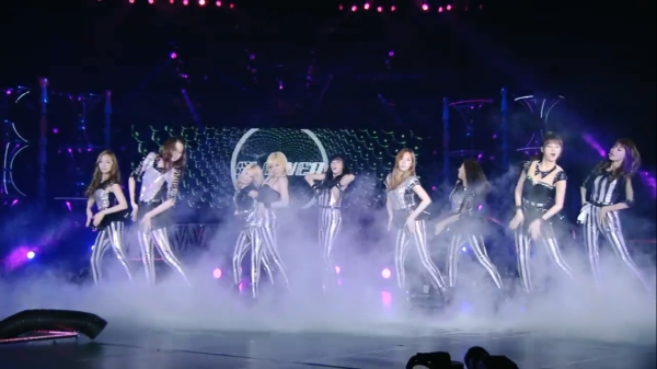 snsd 2nd japan tour screenshot