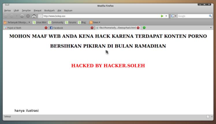 web kena hack