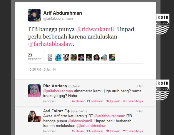 tweet tentang farhat abbas