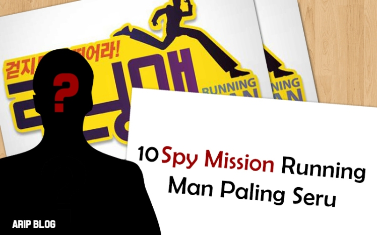 10 spy mission running man