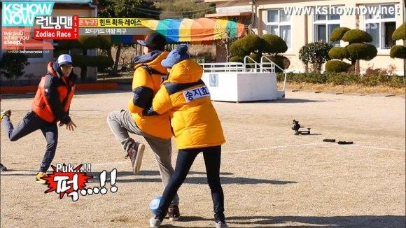 running man dodgeball