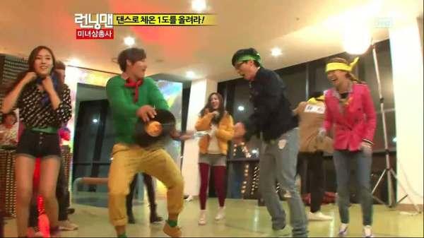 ruuning man dance battle