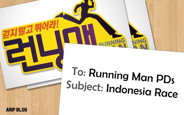 running man indonesia mission race
