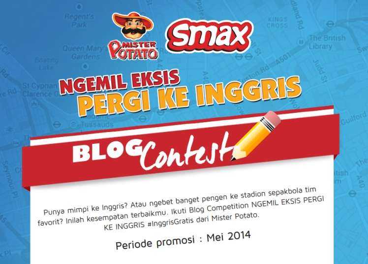 BLOG CONTEST MISTER POTATO