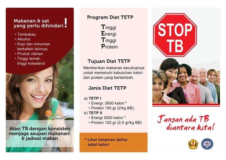 pamflet pengaturan diet tuberculosis back