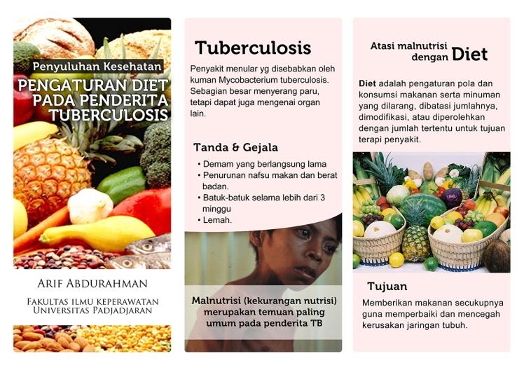 pamflet pengaturan diet tuberculosis front