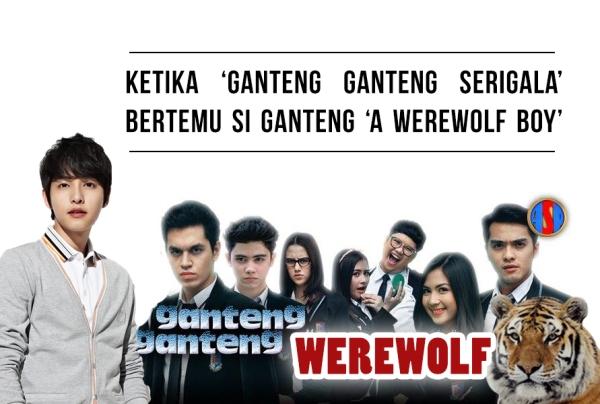 ganteng ganteng serigala werewolf