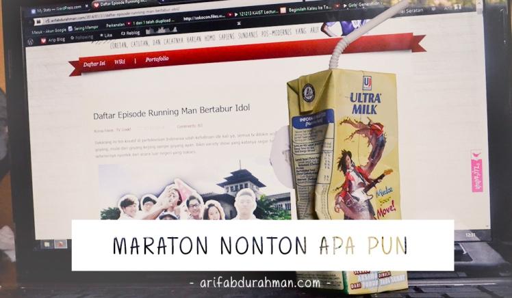 maraton nonton apa pun