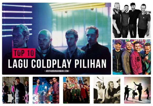top 10 lagu coldplay