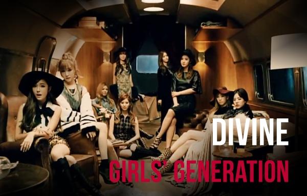 divine girls generation snsd