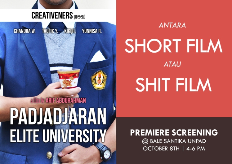 padjadjaran elite university shit film