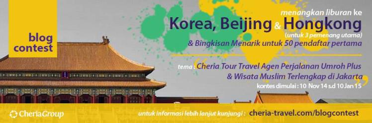 Ikuti Lomba Blog Hadiah Ke Korea