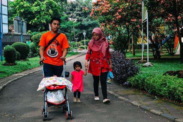 taman lalu lintas keluarga