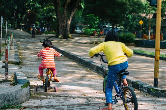 taman lalu lintas sepedahan