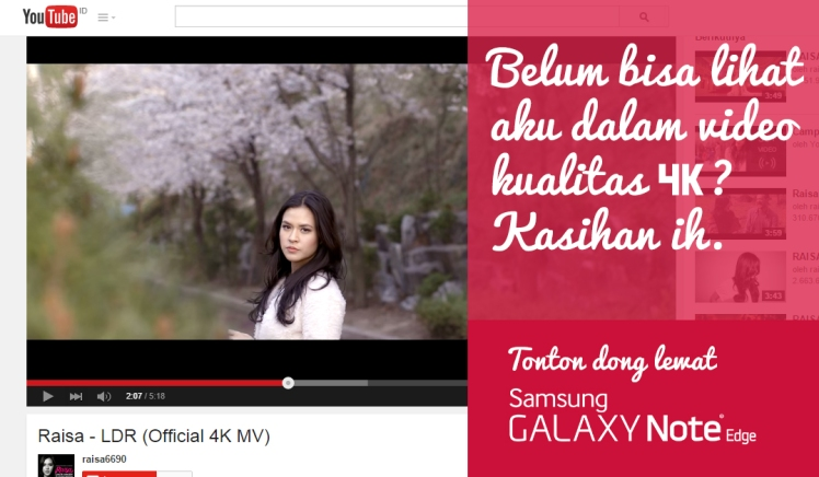 raisa samsung galaxy note edge