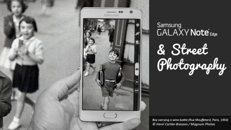 samsung galaxy note and street photography