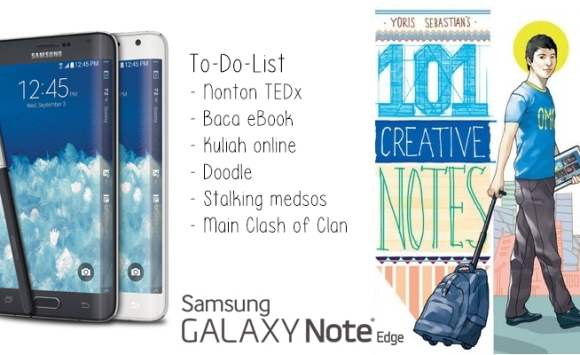 samsung galaxy note edge to do list