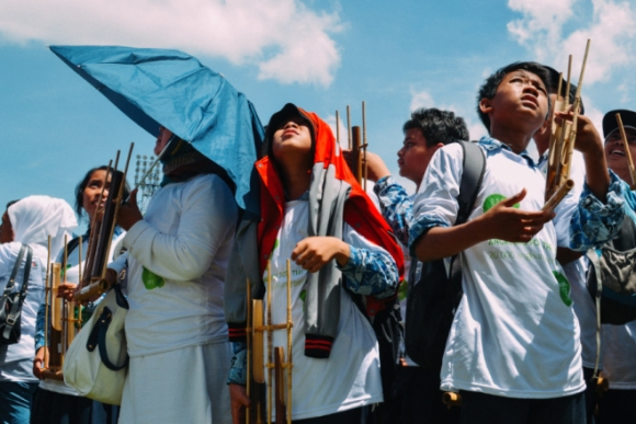 angklung for the world panas