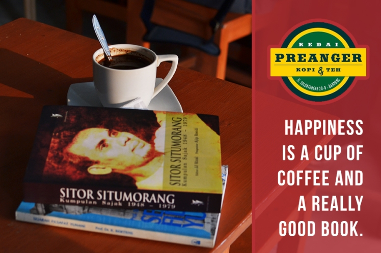 kedai preanger good book and coffee