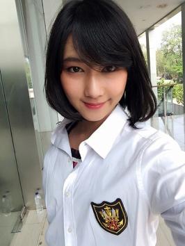 dhike jkt48 mojang bandung cantik