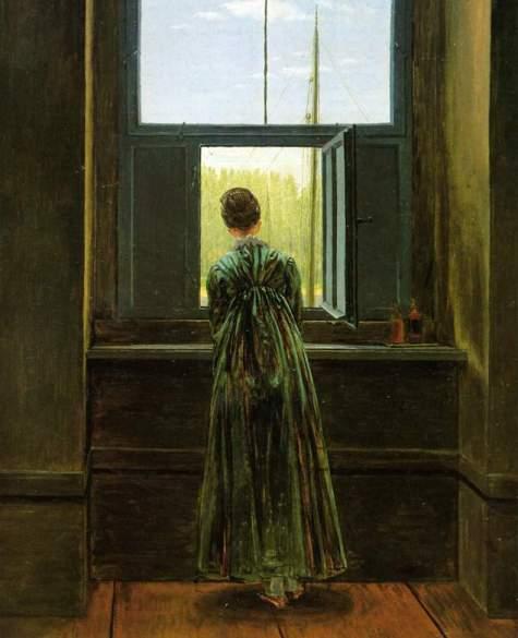 Caspar_David_Friedrich woman at a window