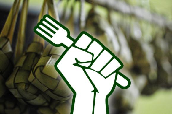fist ketupat lebaran