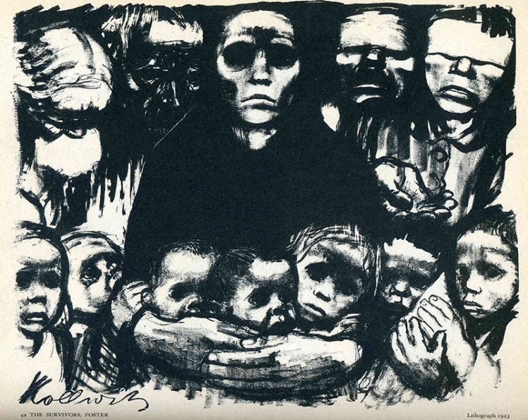 kathe kollwitz the survivors