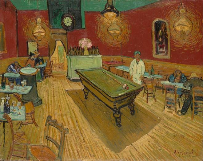 The Night Café by Vincent van Gogh