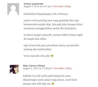blog viny banyak komentar