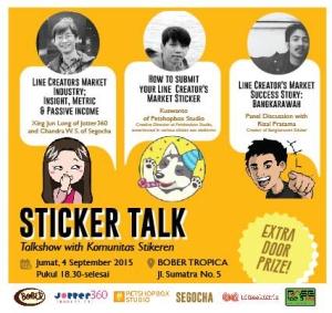 stikeren sticker talk