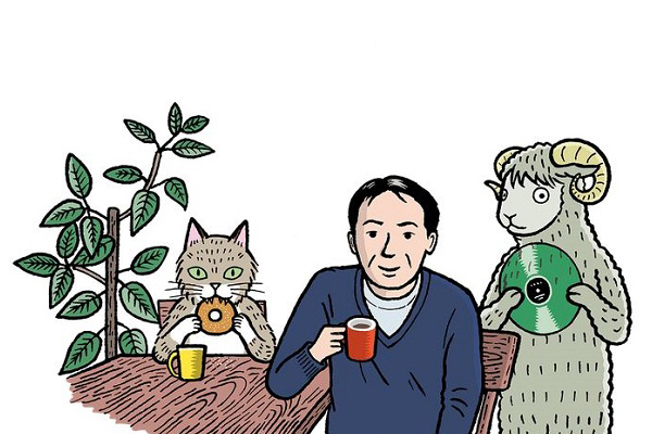 haruki murakami cartoon